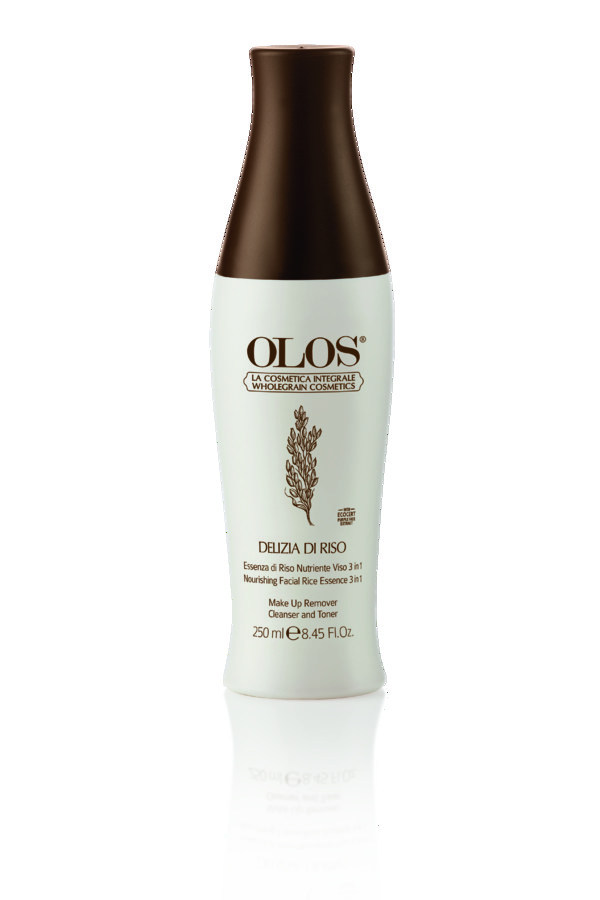 OLOS DELIZIA DI RISO RICE ESSENCE 3 IN 1: MAKE-UP REMOVER, CLEANSER AND TONER-196